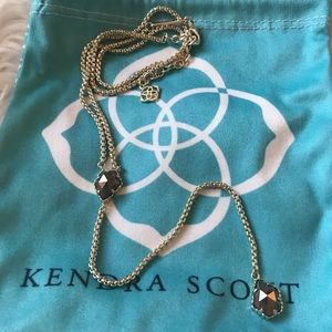 Kendra Scott Necklace - Pyrite
